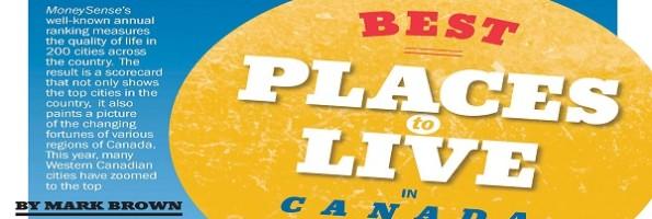 Melhores Cidades Para Morar no Canada 2014