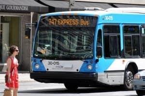 Ônibus Montreal