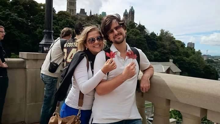 O autor e fundador do Site Imigrar: Rafael Alencar e sua esposa e colaboradora Andréia Dourado
